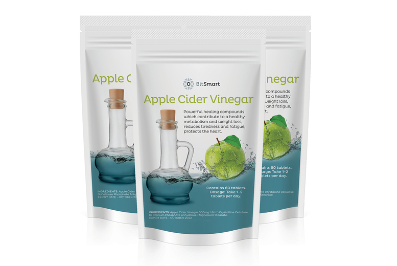 Image of £2 for a 50% discount on all products from Bit Smart Well-Being - enjoy apple cider vinegar, tumeric, vitamin c, activated charcoal supplements and more, and even free delivery within the UK!