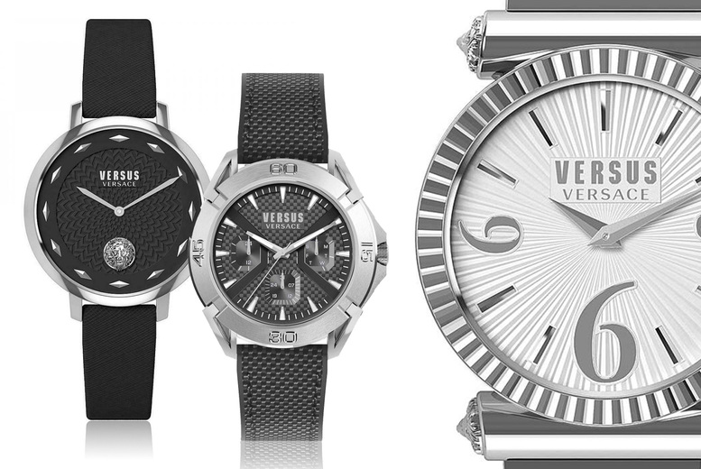 Image of From £49 instead of £139 for a Versus by Versace watch from Brand Arena - choose from six designs! - Save 65%