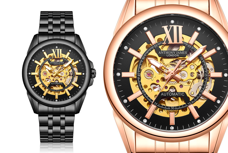 Image of £29.99 for an Anthony James hand assembled limited edition mystique men's Watch from Time Pieces!