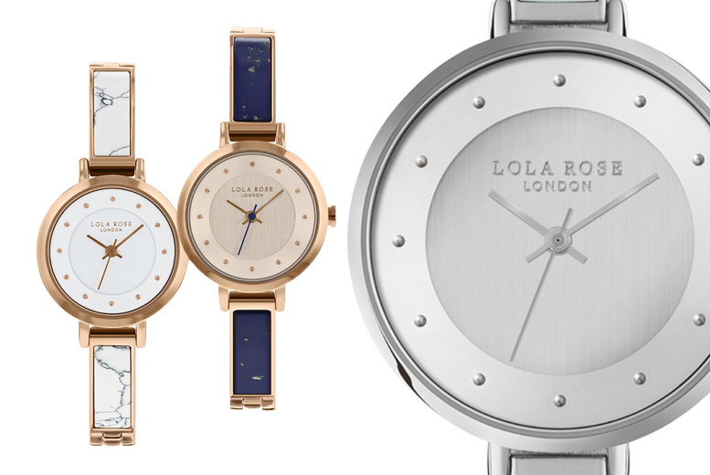 Image of £18 for a Lola Rose watch from Brand Arena - choose from seven designs and save up to 84%