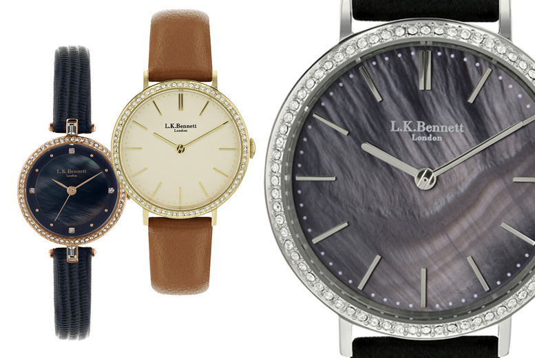 Image of £19.99 instead of £200 (from Brand Arena) for an LK Bennett ladies' watch - choose from 4 styles! - Save 90%