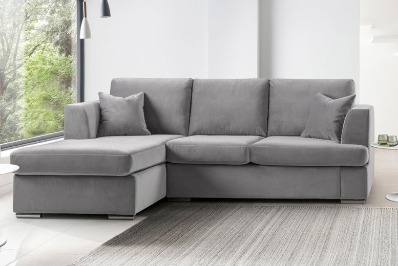 Image of £499 for a Felice corner sofa or £679 for a three-seater and a two-seater sofa from Furnex!