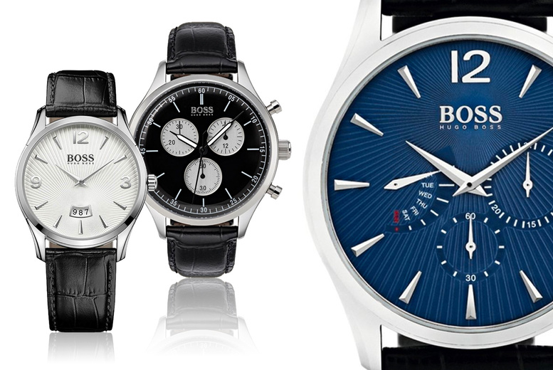 Image of From £89 instead of £139 for a Hugo Boss watch from Brand Arena - choose from seven designs! Save - 36%