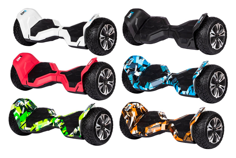 Image of £279 instead of £599.99 for a G2 Pro off-road hoverboard segway in Black, White, Red, Blue, Green or Orange from Zimx – save 53%