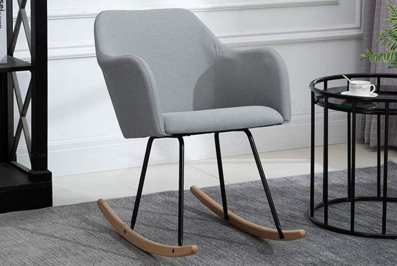 Image of From £69 for a Stylish Rocking Arm Chair from Mhstar Uk Ltd - save up to 28%