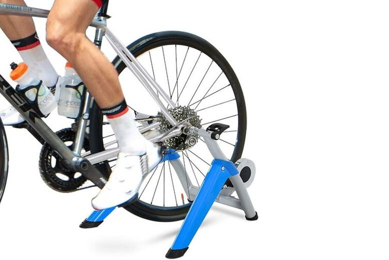 Image of £119 instead of £299.99 for a Steel 8-Level Indoor Stationary Bike Trainer Frame from Mhstar Uk Ltd - save 60%