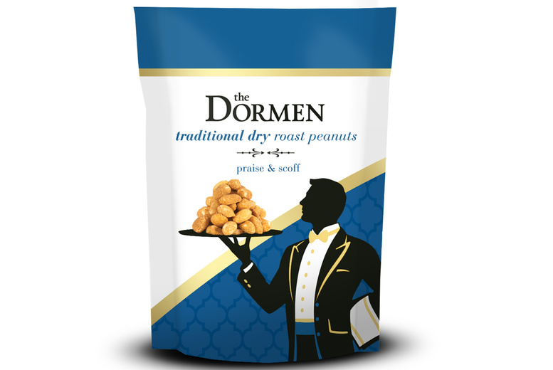 Image of £8 instead of £14 for a 24pk peanut box from the Dormen, or £15 for a 48pk box with salted peanuts and dry roasted peanuts - save up to 43%