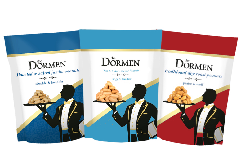 Image of £19 instead of £42 for a 72-piece pub snack bundle from the Dormen including 24 x salted peanuts, 24 x dry roasted peanuts and 24 x salt & cider vinegar peanuts - save 55%