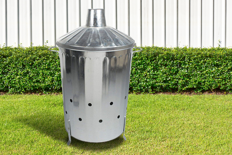 Image of £19.99 instead of £39.99 for a 90 litre incinerator from Anything4Home - save 50%