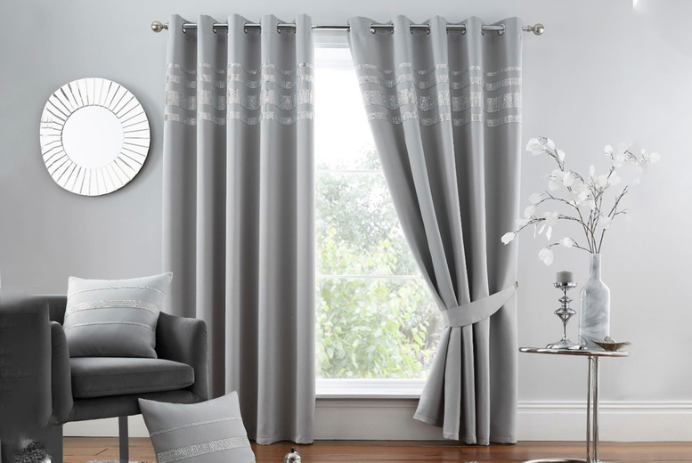 Image of From £16 for blackout curtains from Victoria - choose from six colours, four sizes and save up to 73%