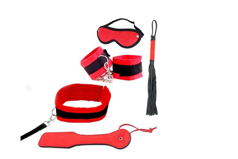 Image of £10 instead of £69.99 for a 5pc bondage kit with handcuffs from GameChanger Associates - save 86%