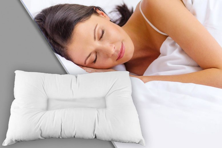 Image of £7 instead of £19.99 (from Direct Warehouse) for an anti-snore pillow, £14 for two or £21 for four! - save 65%