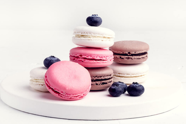 Image of £9 instead of £199 for an online Master in Macarons course from Knowledge Door - save 95%