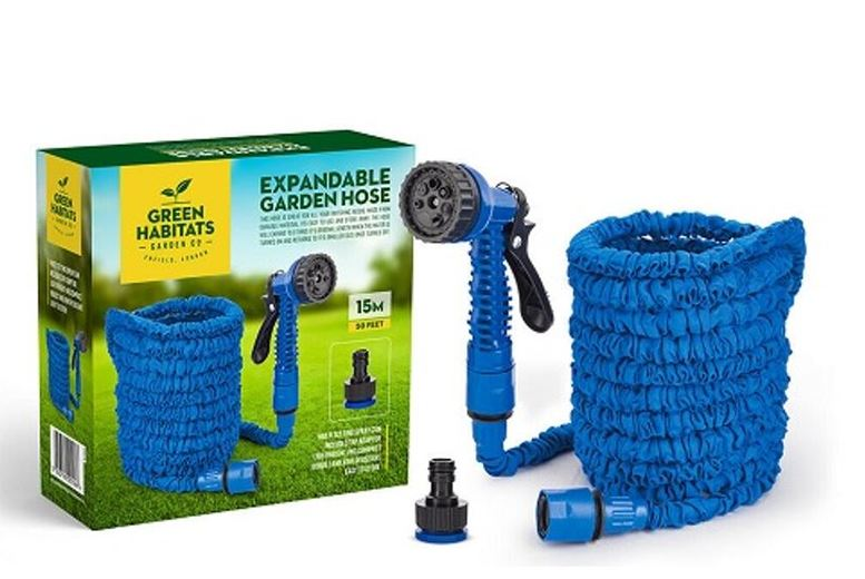 Image of From £9.99 for an expanding garden hose from ViVo Technologies - save up to 67%