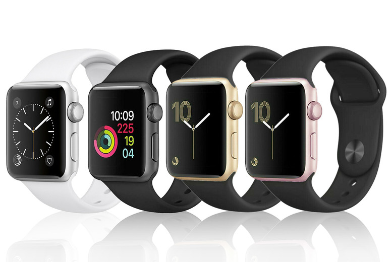 Image of From £99 instead of £279.99 for a refurbished Apple Watch Series 2 38mm or from £119 for a refurbished Apple Watch Series 2 42mm from Renew Electronics - choose from gold, rose-gold, silver or space grey and save up to 65%