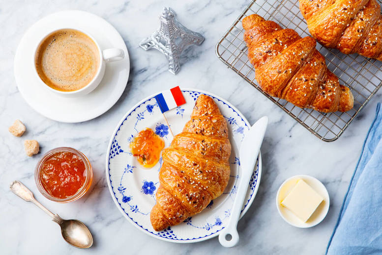 Image of £8 instead of £199 for an online Croissants Home Baking course from Knowledge Door - save 96%