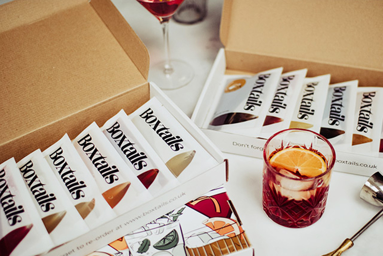Image of £10 for £20 to spend on Boxtails products - discover your new favourite cocktails or enjoy classics and save 50%