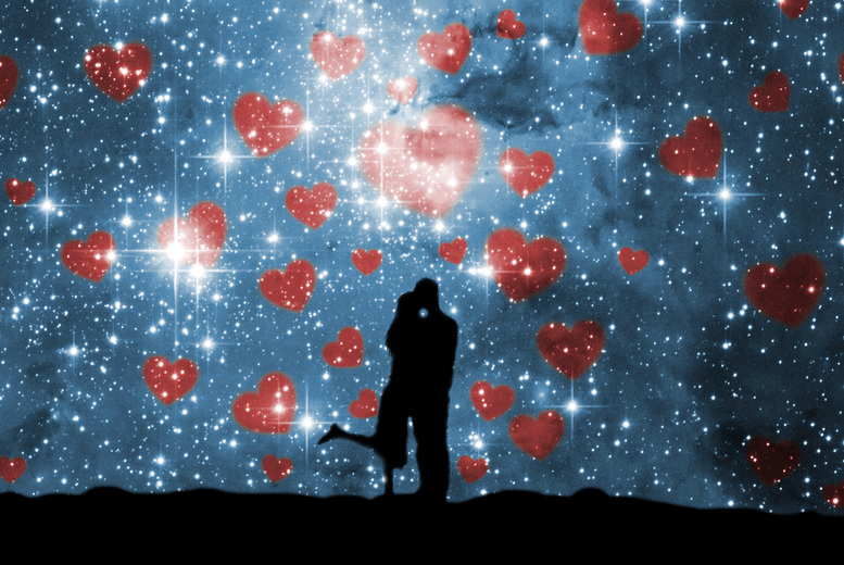 Image of £4.99 for a love match and star sign compatibility report from Love Match!