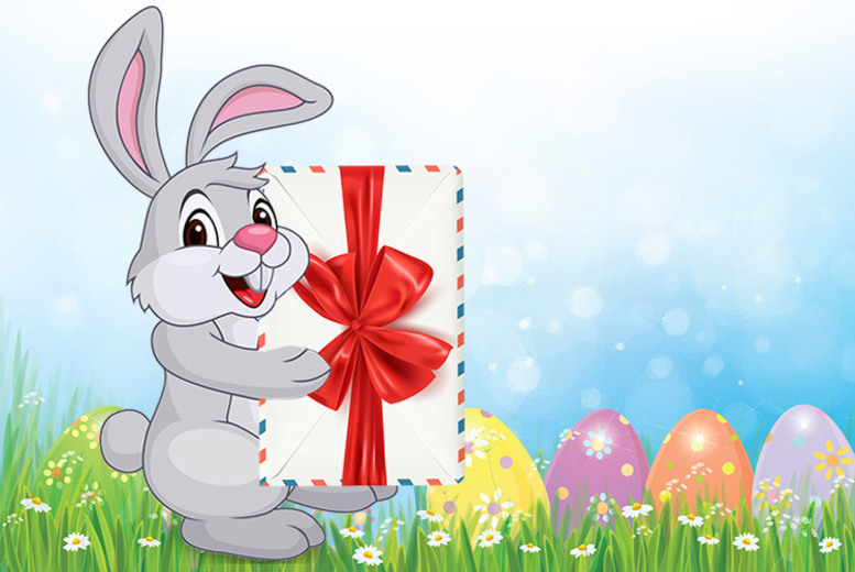 Image of £4.99 for a letter and certificate from the Easter Bunny from Easter Bunny Mail!