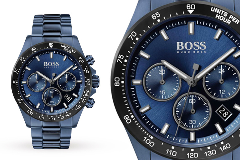 Image of £149 instead of £499.99 for a Hugo Boss Hero Sport men's watch from Demand Tic! - Save 70%