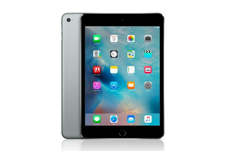 Image of £289 for a refurbished space grey Apple iPad Mini 4 from Loop8!