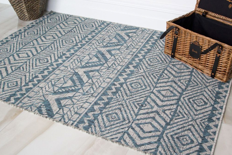 Image of From £14.99 for a woven outdoor rug from Kukoon Rugs - choose from four sizes and save up to 25%