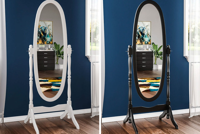 Image of £39.99 instead of £79.99 for a Nishano cheval mirror from Home Discount - save 50%