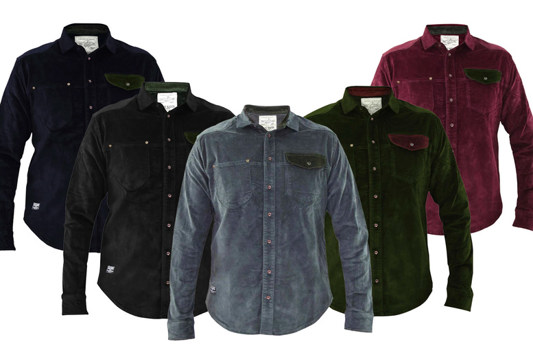 Image of £11 for a men's Jack South corduroy shirt from True Face!