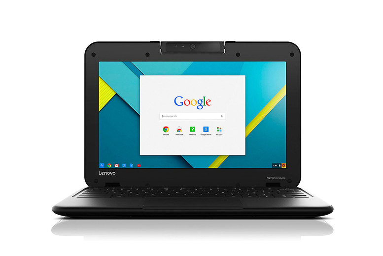 """Image of £199 instead of £349.99 for a refurbished 11.6"""" Lenovo N22 Chromebook with 16GB SSD and 4GB RAM from Renewed Computers! - Save 43%"""