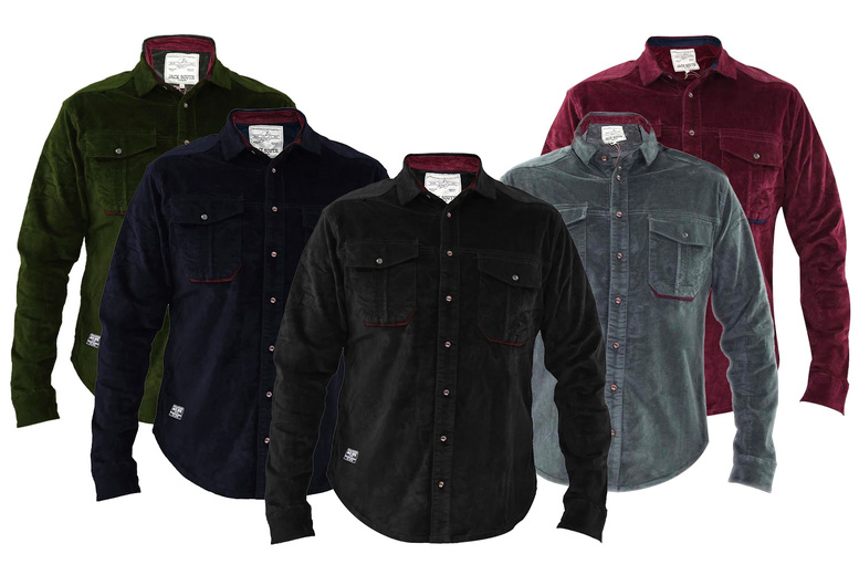 Image of £11 for a men's corduroy shirt from True Face!