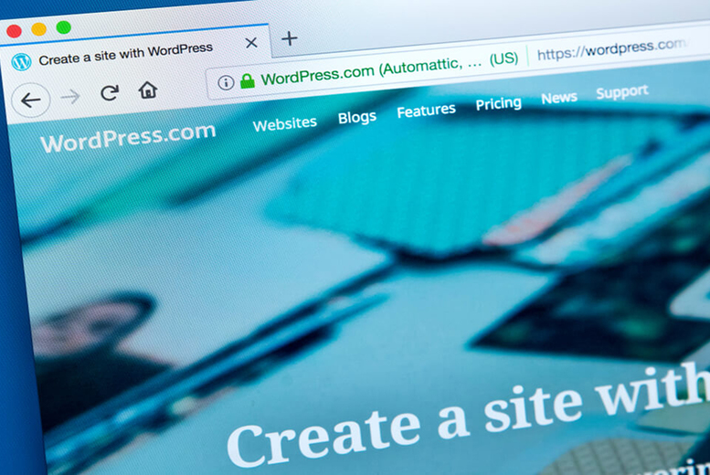 Image of £8 instead of £199 for an online WordPress course for beginners from Knowledge Door - save 96%