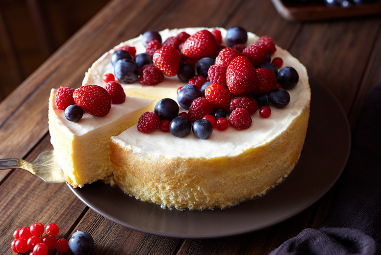 Image of £8 instead of £199 for an online cheesecake making course from Knowledge Door - save 96%