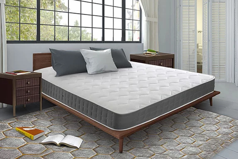 Image of From £79 for an amana grey memory foam sprung mattress from Mattress Craft - save up to 60%