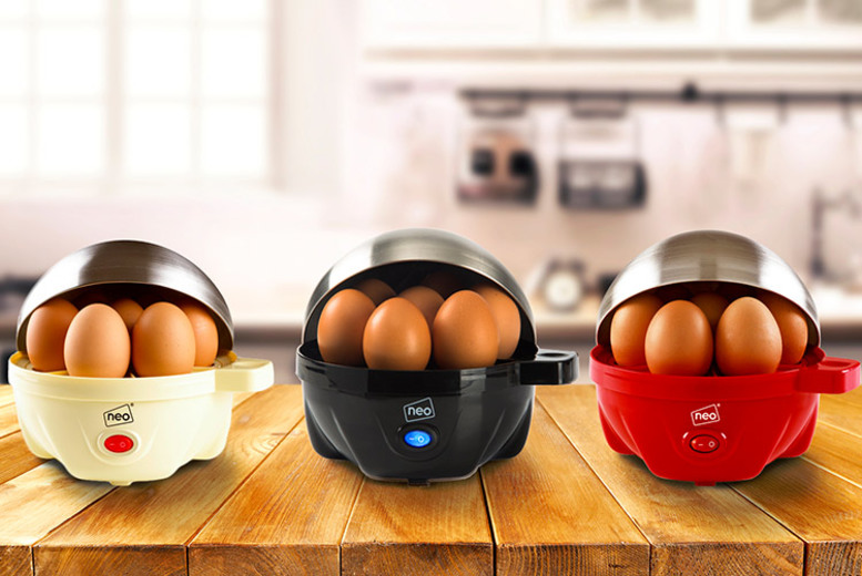 Image of £11.99 instead of £55 for a Neo® three-in-one egg boiler, poacher and omelette maker - choose from six colours from Home Empire - save 78%