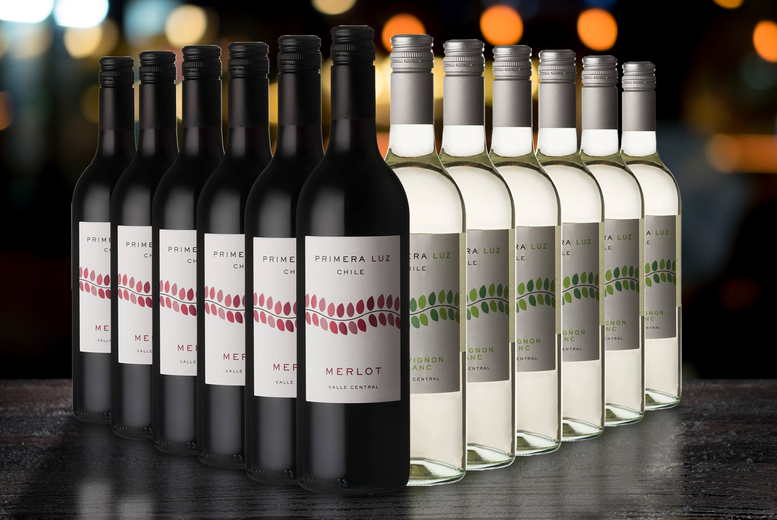 Image of £29.99 instead of £46.50 for six bottles of mixed Chilean wine, or £52.99 for 12 bottles from The Great Wine Co. - save up to 36%