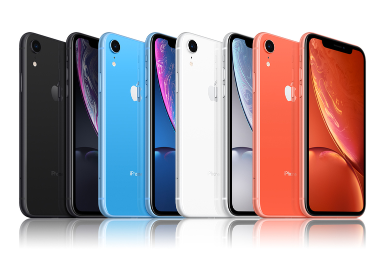 Image of £330 for a Good refurbished Apple iPhone XR or £350 for a Very Good refurbished iPhone XR in black, blue, white or coral!
