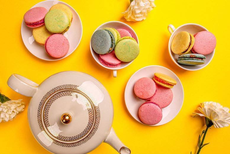Image of £13.49 for a macaron collection baking box from Britain Loves Baking