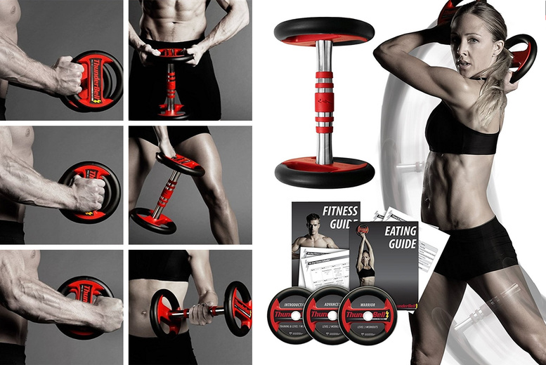 Image of £39 instead of £89.99 for a 6lb Thunderbell fit 6 multipurpose dumbbell from GYMKITUK - save 57%