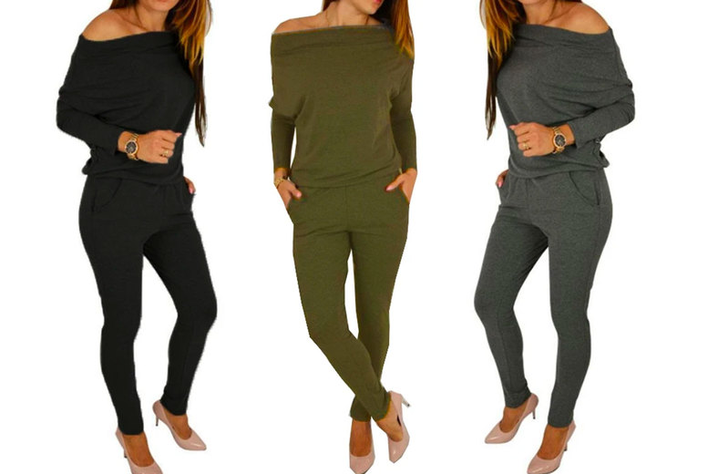 Image of £12.99 for a women's Celine lounge jumpsuit in UK sizes 8-18 from Boni Caro