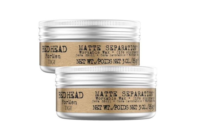 Image of £11 instead of £51.99 for a 2 Pack of 85g Bed Head by Tigi Mens Firm Hold Hair Wax Avant-Garde Brands Ltd - save 79%