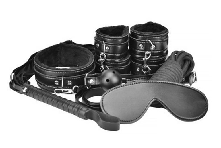 Image of £17.99 for a Loving Joy eight-piece bondage kit from Hello Pleasure