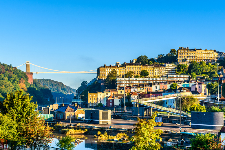 Image of A central Bristol hotel stay at the 4* Leonardo Hotel Bristol Glassfields for two people or a family of four with breakfast. From £59 for one night in a standard room, or from £115 for two nights in a superior room - save up to 42%