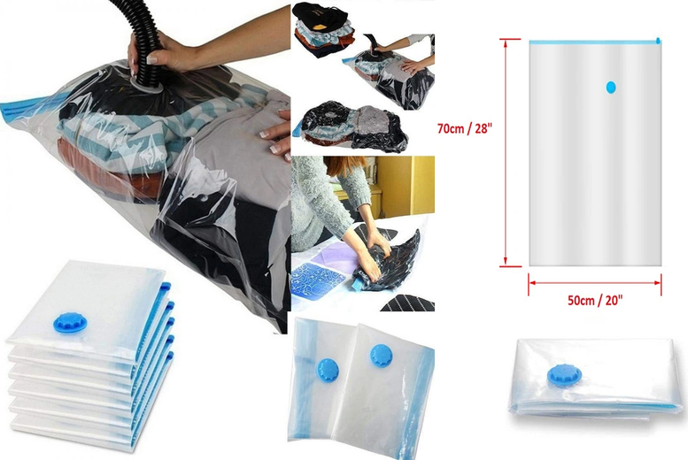 Image of From £3.99 for compression vacuum bags from Forever Cosmetics - save up to 69%