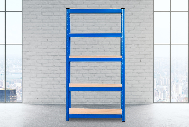Image of £24.99 instead of £169.99 for a shelving unit from Monster Packaging - save 85%