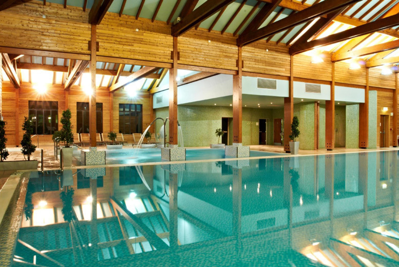 Image of £109 instead of £225 for five hour spa access for two people at Bannatyne Health Club & Spa including four treatments each, a BSC skincare product each and a £5 voucher. £129 for premium locations - save up to 52%