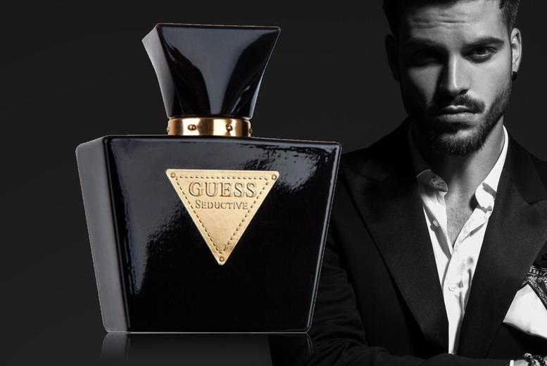 Image of £18.20 instead of £32 for a 100ml bottle of Guess Seductive Noir for men eau de toilette from Beauty Scent - save 43%