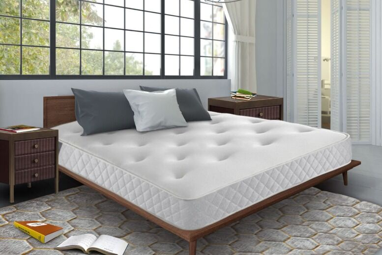 Image of From £79 for a Silvia tufted memory foam mattress from Mattress Craft - save up to 75%