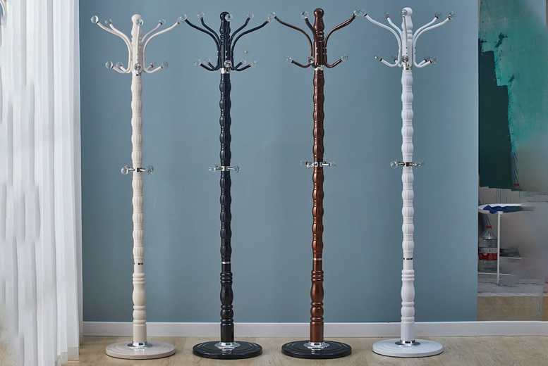 Image of £49 instead of £65 for a crystal ball coat stand from Modernique Furniture - save 25%