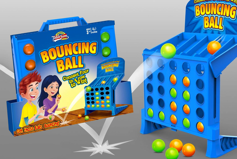 Image of £11.99 instead of £29.99 for a kids' bouncing ball game - Save 60%