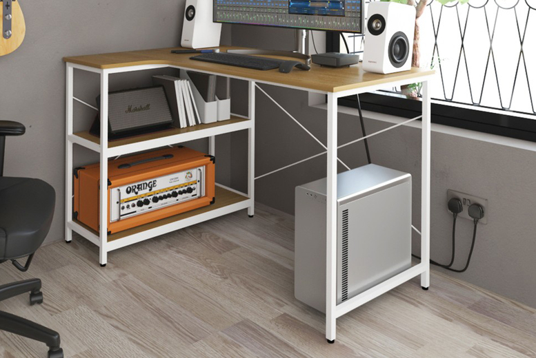Image of £139 instead of £799 for a Gonwana computer desk from Envisage Home - save 83%